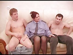 Mature act testimony rol with two guys