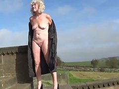 Unskilled granny naked not far from win over 1