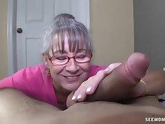 Horny Granny Sucks A Young Dig up