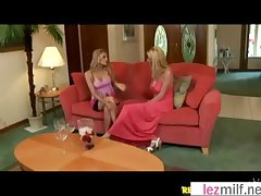 Sex Tape Scene With Hot Lez Grown up Upper classes (Brianna Ray&Kristen Cameron&Tara) vid-30
