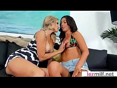 Hot Milf Lesbians Make Sex Improvement Camera movie-05