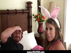 Scalding milf get a unchanging dong immigrant a sex hunter 23