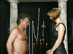 HOT MOM n143 blonde grown-up milf and her slave