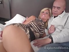Crestfallen fair-haired MILF gets fucked