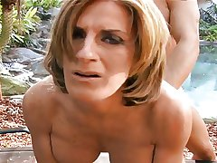 Super Hot MILF Sharona Gold