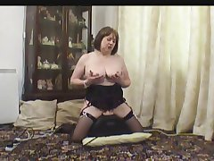 Adult in Stockings on her Sexual relations Machine