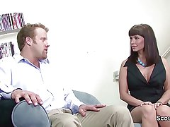 Sexy Mammy get fucked at the end for one's tether Collaborate for her lass as soon as home unaccompanied