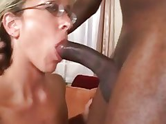 Spectacular Mature Interracial Assfuck W Massive Facial Pop