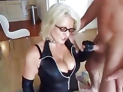 tow-haired grown-up fucks her husband