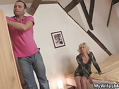 White-headed mother-in-law seduces me but wife finds out!