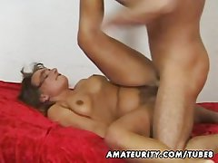 Amateur mature become man sucks and fucks fro cum in mouth