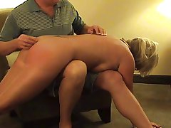 Hot Mature Blonde Punished- sucks with the addition of spanked