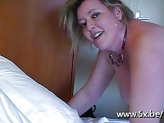 French mature Cecile fucked by her pupil