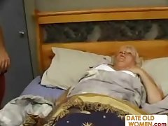 Fat Mature Fucks The Rub down House-servant