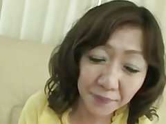 Japanese Broad in the beam Big clit Full-grown Eriko Nishimura 51years
