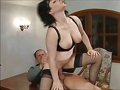 FRENCH BRUNETTE Of age MILF - PUSSY Added to ANAL FUCKING