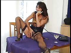 german mature Nina fucked fro fishnets n heels