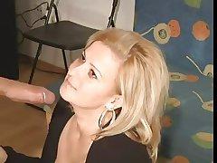 Blondie full-grown blowjobs