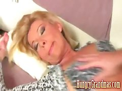 Granny fucked wide of younger coxcomb