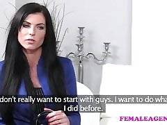 FemaleAgent Amazingly XXX with skills to match