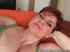 Fat mature redhead