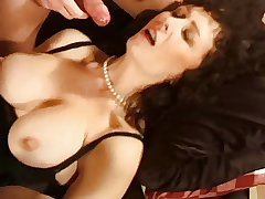housewife matured brunette threesome