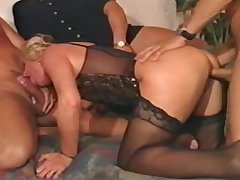 german matured gangbang