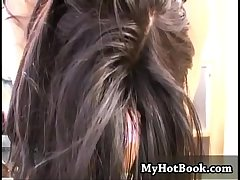 Angelia is a hot and frying Latina MILF that sits o
