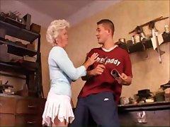 Egregious granny likes anal