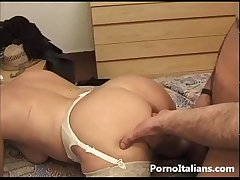 Full-grown lady italian Granny sexy - Pecorina con nonna italiana