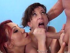 World Cock sucking championship Sara Jay and Ava devine