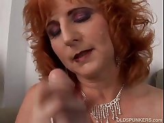 Haymaker cougar is a squirter