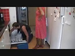 Slutty Granny Gets Laid Off out of one's mind Plumber's Warble