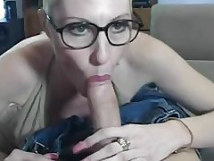 hot grown up mom playing with young boy