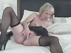 Busty Blonde Milf Gets Crummy