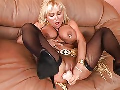 broad in the beam full-grown comme ci toying and fucking