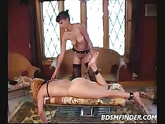 Grown up Sapphist Femdom Bondage With an increment of Spanking