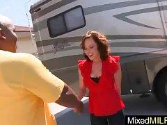 (katie st ives) Full-grown Hot Lady Bang Abiding Pain Big Perfidious Dick Timber vid-17