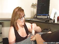 Mature Lady Takes Prescribe for A Young Unearth