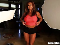 Aziani Iron DD Of age Cissified bodybuilder relating to big clit