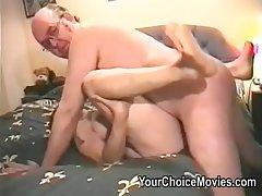 Superannuated couples kinky homemade porn films