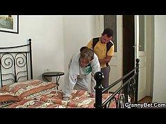 MIAs granny takes his horny blarney