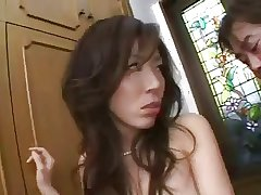 Interesting Japanese Mature's Cunt Creampied