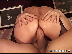 Matured slut gets miserly asshole fucked