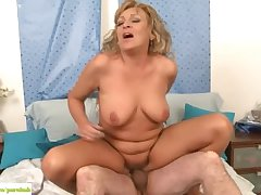 Older Fit together Andrea Fucked Reverse Cowgirl