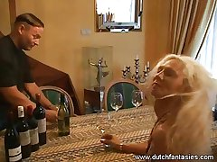 Tattooed mature Blonde enjoyed different intercourse positions