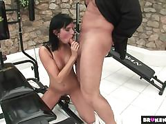 AgedLove supplicant gets blowjob from doyen lady
