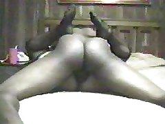 Mature Blonde BBW in Stockings squirts exceeding BBC