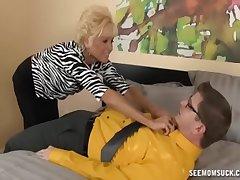 Naughty Granny Blowjob