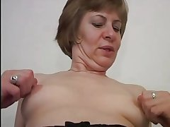 Nice Nipples chiefly Little Interior Grown-up in Stockings Fucks